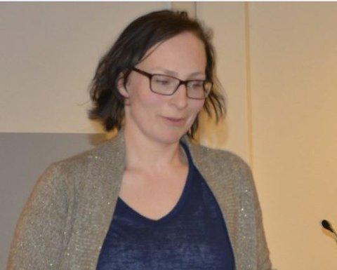 Karine Veim Baraa er SV-representant i kommunestyret i Spydeberg.