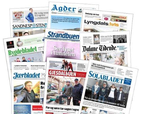 Nordsjø Medias aviser blir overtatt av Amedia.
