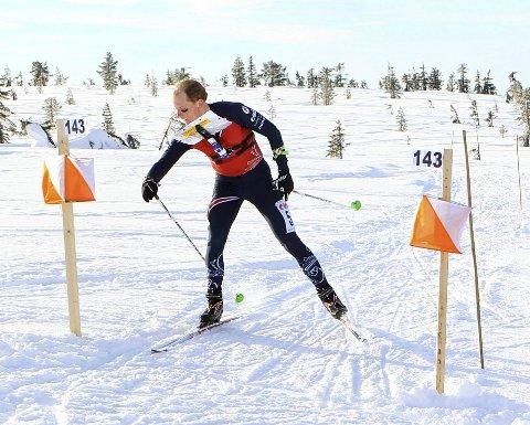 STEMTE IKKE: Lars Hol Moholdt ble nummer 10 på torsdagens langdistanse i EM.