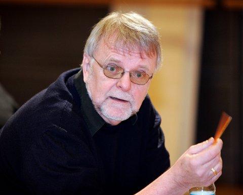 Forfatteren Klaus Hagerup er død, 72 år gammel. Foto: Gorm Kallestad / NTB scanpix.