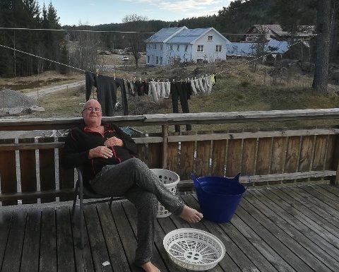 Nils Mjåvatn er meget godt fornøyd med å være hjemme igjen.
