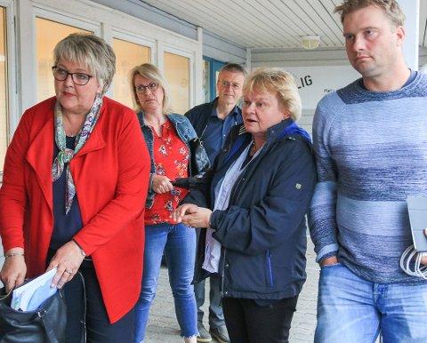 Ordfører Inger Løite (Ap) etter behandlingen i formannskapet som utløste lokale reaksjoner. Ansatte ved familiehuset fikk kritikk for uttalelser i media  i kommunestyret. Nå er det besluttet at Familiehuset skal legges ned i nåværende form.