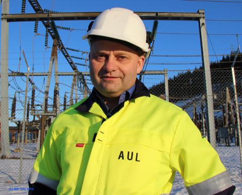 Direktør Arve Ulriksen i Mo Industripark.