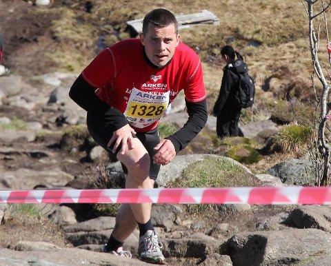 David Toska løp Løvstakken Opp i mai 2015. (Arkivfoto)