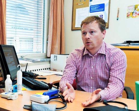AP-POLITIKER: Den tidligere fastlegen Ole Henrik Krat Bjørkholt er medlem i Ap og vara i Drammen kommunes hovedutvalg for helse, sosial og omsorg.