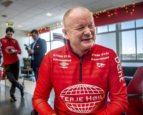 Fredrikstad-trener: Per-Mathias Høgmo tok før jul over Fredrikstad Fotballklubb. Målet hans er å bringe klubben tilbake til toppen av norsk toppfotball. Foto: Fredriksstad Blad