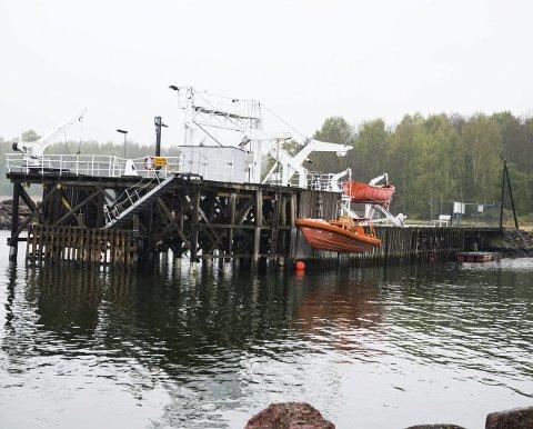LANGGRUNN: Redningsselskapet har sikret seg havn og lokaler på Langgrunn i Horten.