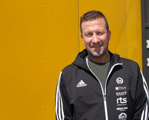 NY JOBB: Helge Hammersland har fått ny jobb og slutter som daglig leder i Åkra IL.