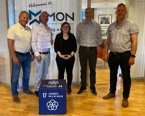 VIKTIG STEG: Samarbeidet mellom Bergen Carbon Solutions  og Mosjøen og Omegn Næringsselskap har nå tatt et viktig steg videre mot en etablering i Mosjøen.