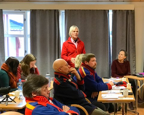 SPØRSMÅL: Det var et stort engasjement i salen under seminaret. Foto: Leif Gøran Wasskog