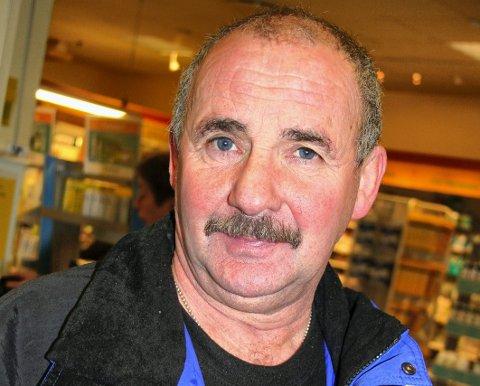 UTE AV SYKEHUS: Magnus Johansen fra Nesseby har blitt skrevet ut av Kirkenes sykehus, etter å ha vært lagt inn med konronasmitte. Bildet er tatt ved en tidligere anledning.