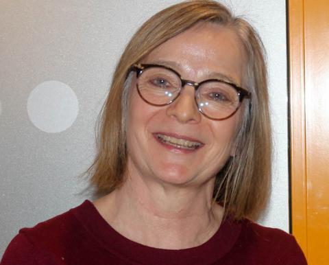Siri Tau Ursin, administrerende direktør i Finnmarkssykehuset fotografert ved en tidligere anledning.