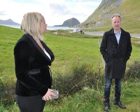 FOREBYGGING: Stortingsrepresentant Mona Fagerås (SV) mener Vestvågøy kommune og ordfører Remi Solberg ikke bør regne barnetrygd som inntekt ved beregning av sosialhjelp. Arkivfoto: Magnar Johansen