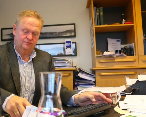 KOMMUNESAMMENSLÅING: Styreleder Jan Kristensen sier kommunesammenslåingen er en viktig årsak til at Vekst i Lyngdal nå oppløses.