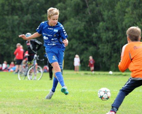 TO MÅL: Vegard Tallaksen prikket inn to scoringer mot Hølen/Son/Vestby i Norway Cup tirsdag.