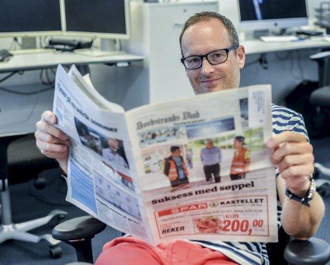 Pluss, så får du en suss: Logger du inn på www.noblad.no får du tilgang til alt vi lager – hele tiden, sier redaktør Martin Gray.