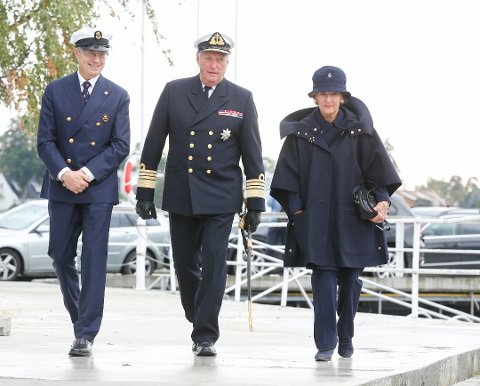 TIL HAMAR: Kong Harald og dronning Sonja kommer til Hamar i juni. (Foto: Terje Pedersen / NTB scanpix)