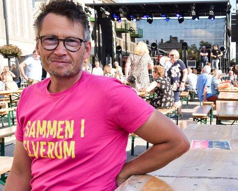 FESTIVAL: Tore Hagen er overlykkelig over at festivalen har slått så godt an.