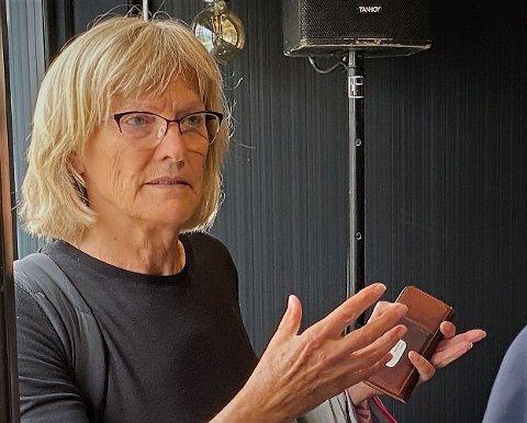 SKUFFET: Karin Andersen (SV) mener Røros- og Solørbanen nok en gang sviktes av regjeringen.