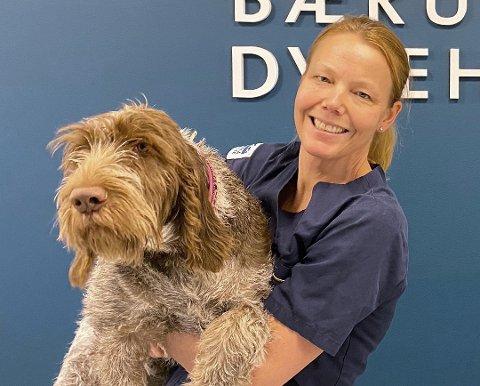 LEDER: – Jeg har alltid vært veldig glad i dyr, sier Kjersti Erstad, som skal lede det nye dyrehospitalet i Bærum.