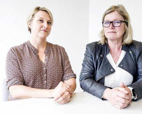 Stine Haslund (t.v) og Kari Rolstad er klare til å svare på spørsmål fra leserne.