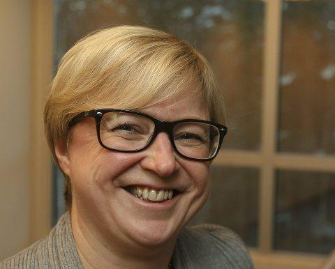 ORDFØRERKANDIDATEN: Eva Norén Eriksen i Røyken Høyre.