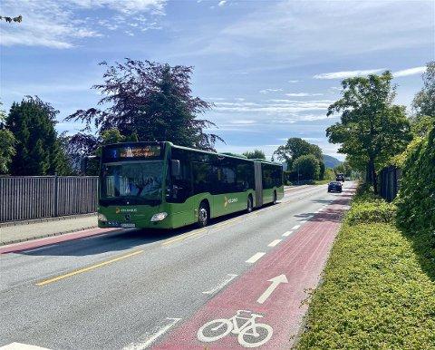 På Gausel skal det også bli bussvei.