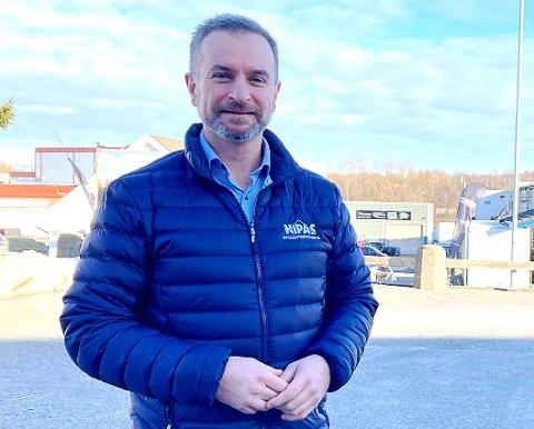 SKIFTER BEITE: Tony Øvrevik bosatt på Grålum er hentet inn som ny sjef for Frigaard-selskapet Metacon.