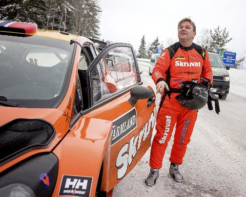 MED STIL: Spydebergingen fullførte Rally Sweden med stil.