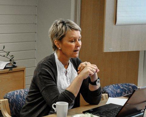 SIER JA: Mona Slaaen fra Hjuksebø bekrefter at hun kommer til å takke ja til tilbudet om å bli ny rådmann, eller kommunedirektør i Hjartdal. I dag er hun assisterende kommunedirektør i Midt Telemark. Bildet er fra 2016.