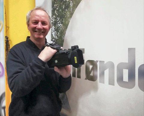 BEKLAGELIG:  Daglig leder Jens Einar Aune i Trønder-TV sier at meldingen fra Lotteritilsynet om mangler i konsesjonen kom som lyn fra klar himmel.