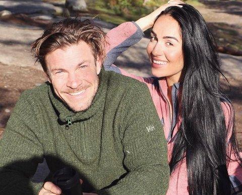 Kjell-Ola Kleiven og Benedicte Angelica Tehrani er klare til å stifte familie i Frogn.