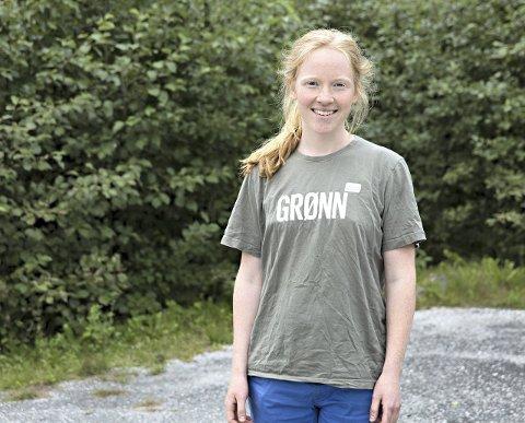 Irja Frydenlund, 2. kandidat for Tingvoll MDG