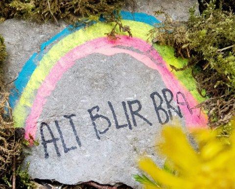 Korona: Det finnes håp!Foto: Gorm Kallestad / NTB scanpix