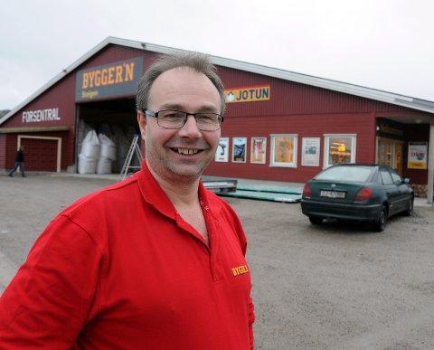 Nytt framstøt: Byggmester Ole Jakob Aalstad gjør nytt forsøk på å få etablert betongstasjon, denne gangen i nabokommunen.
