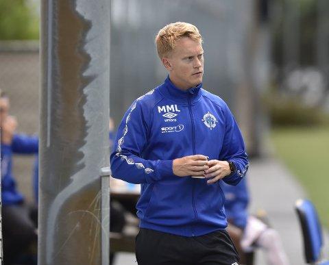 Mathias Macody Lund er trener for et Bergen Nord-lag, som har imponert i 4. divisjon. (Foto: Odd Løvset, Hordalandsfotball)