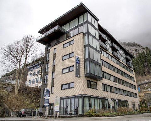 Sandviksveien 94: Stoltzen Hotel & Apartments ved Sandviken Brygge blir etter alt å dømme hybelhus for studenter. Kunnskapsdepartementet har bevilget 19 millioner kroner til prosjektet. FOTO: EIRIK HAGESÆTER