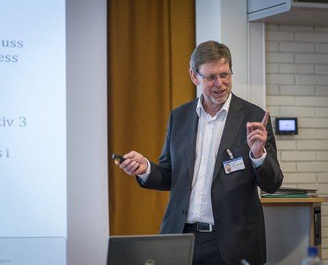 HELSETOPP: Nils Fredrik Wisløff er kritisk til Politidirektoratets håndtering av samlokaliseringssaken.