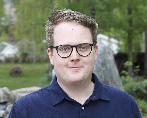 LETT Å FORSTÅ: Magnus Weggesrud er den eneste fylkestingsrepresentanten i Viken fra Eiker.