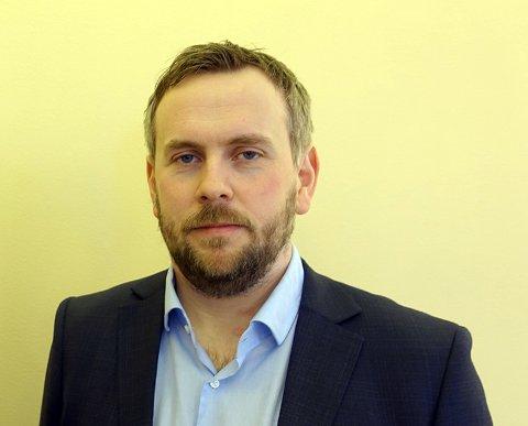 Martin Grønnslett, leder for Samferdselsforum Nord