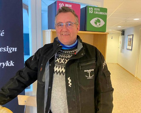 TENKER NYTT: Svein Harald Trondal er ikke redd for å tenke nytt. Nå har han kjøpt Nordkapps første hybride fiskebåt