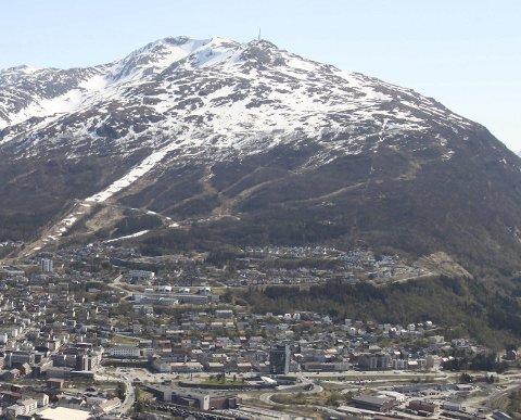 Fagernesfjellet i Narvik.