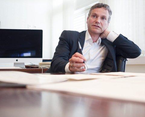 NESTEN I MÅL: Eirik Frantzen takket nei til å bli gjenvalgt som styreleder i Sparebanken Narvik, men takket ja til å fortsette som styreleder for stiftelsen Forte Narvik. Dermed er målet om å skille de to enhetene som hører til under banken, et steg videre.