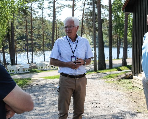 – Dette er utvilsomt et prosjekt som ville kommet allmennheten til gode, sier Kjell Hagen i Sparebank1stiftelsen Halden.