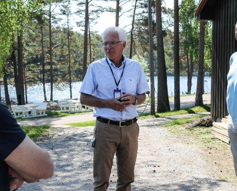 Gavmild: Kjell Hagen og Sparebankstiftelsen har gitt bort 70 millioner kroner i Halden siden oppstarten i 2012.