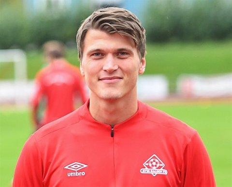 KVIK-KONTRAKT: Markus Kaasa, som kom på korttidskontrakt i oktober, har skrevet 2 års kontrakt med Kvik Halden.