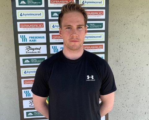 BLIR: Dan Nygård (34) har skrevet ny 1 års kontrakt med Comet.