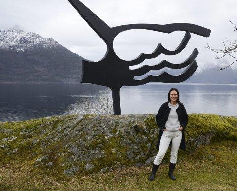Sjefsvikar: Arja Wiik-Hansen har tiltrådt som vikar for ett år som styrer på Hardanger folkemuseum. Foto: Mette Bleken