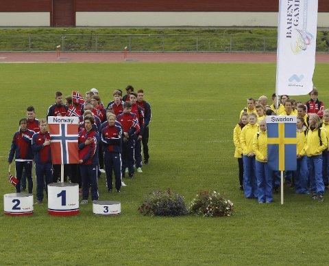 Barents Games: I fjor var Bodø vertskap for Barents Summer Games. Nå er det Luleås tur til å ta imot vintersportsutøverne til dyst i Barents Winter Games.Foto: Bjørn Erik Olsen