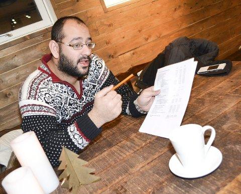 BUDSJETT-skeptisk: MDGs Farid Shariati mener det er uklokt å budsjettere med lavere lånerente neste år.FOTO: KENNETH STRØMSVÅG